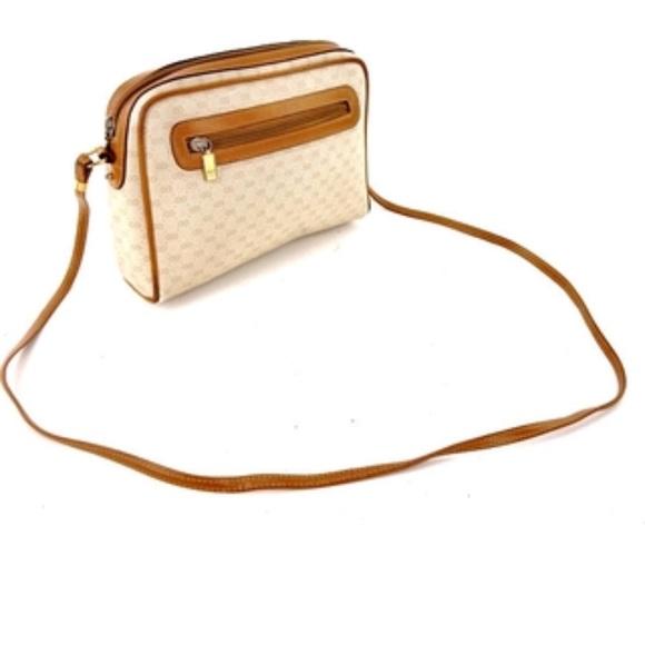 0684a6c199c54 Vintage Gucci Micro GG Monogram Crossbody Bag